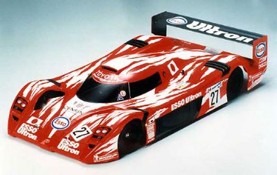 Coche Le Mans. Toyota GT-One