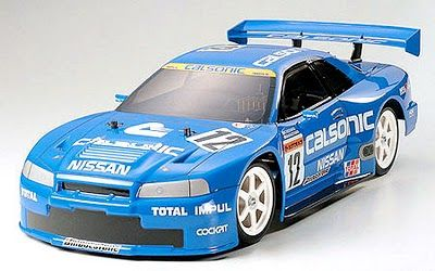 Racing. Calsonic Skyline GT-R