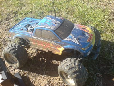 Monster truck RC Tamiya